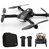 Holy Stone HS260 Faltbare Drohne mit WiFi Kamera 1080P HD, RC Quadrocopter mit 2 Akkus lange Flugzeit, App gesteuert Live Video, Tap-Fly Kopflose Modus Fotodrone inkl. Tasche für Kinder Anfänger Spiel