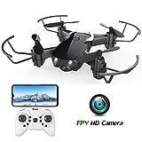 E61HW Mini Drohne mit Kamera Live Übertragung für Kinder Anfänger WiFi FPV ,Kopflos Modus,3D Flip,Höchenhaltung, RC Quadrocopter für Anfänger