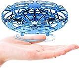 Cypin Mini UFO Drone Infrarot Induktions Flugzeuge Spielzeug Handsteuerung mit LED Licht, wiederaufladbar Indoor Outdoor Mini UFO KinderFliegender Ball Geschenke für Jungen Mädchen