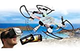 JAMARA 422029' Angle 120 Altitude HD WiFi VR Quadrocopter