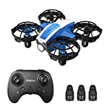 Holyton Mini Drohne HS330 für Kinder RC Quadrocopter ferngesteuert mit 3 Akkus Lange Flugzeit,Handsensor,Höhenhaltung,Kopflos Modus,3D Flip und 3 Geschwindigkeitsmodi Mini Drone,Flugzeug für Anfänger